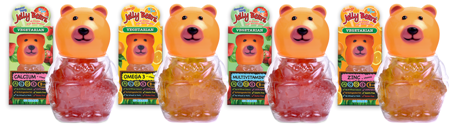 Vegetarian Jelly Bears
